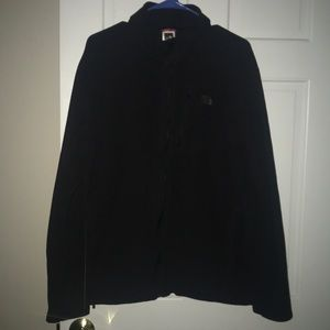 Like New  Men's The North Face Zip Up Black sz lrg
